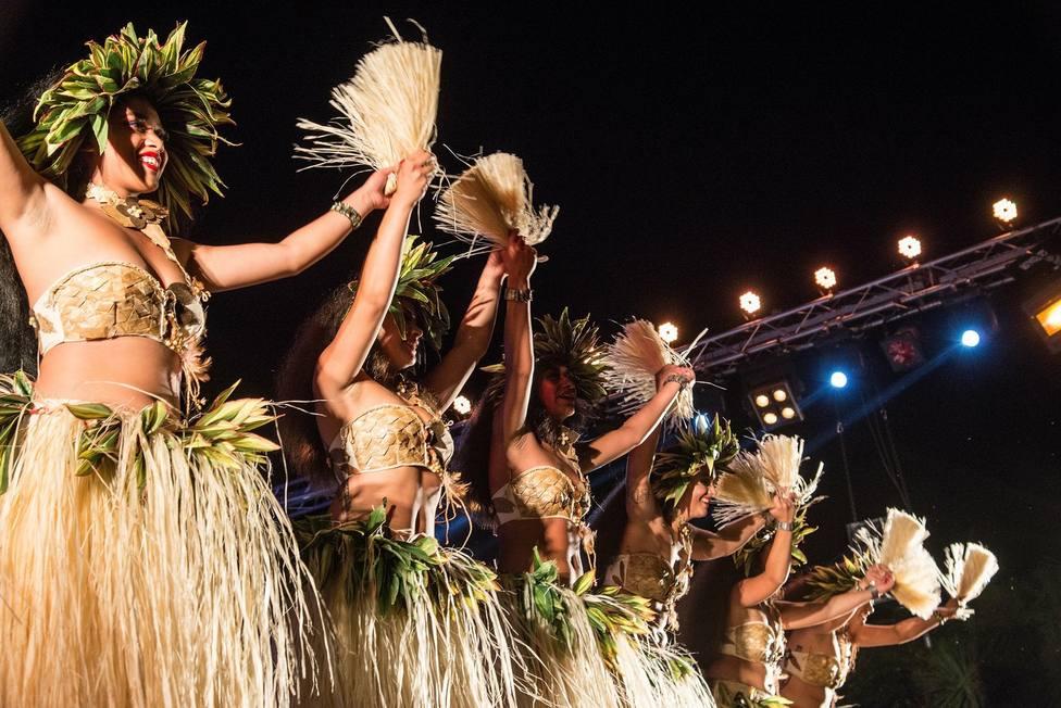 FOTO DE ARCHIVO del Festival Internacional de Folclore de Pontedeume 2019