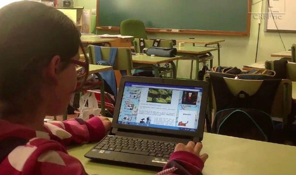 Roban 150 ordenadores portátiles y tablets en el Colegio Pradera de la Aguilera de Villamuriel