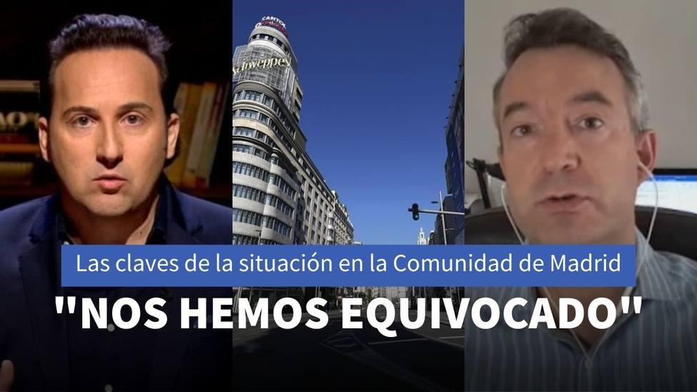 El doctor César Carballo desvela a Iker Jiménez las cinco claves que explican la situación en Madrid