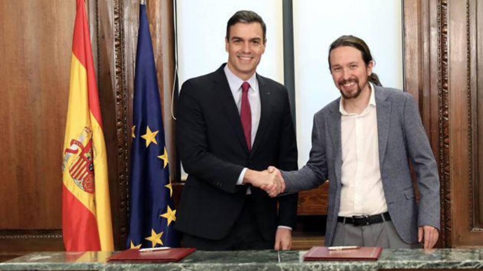 Historia de un Gobierno de coalición: así ha sido el primer año de Sánchez e Iglesias en el poder