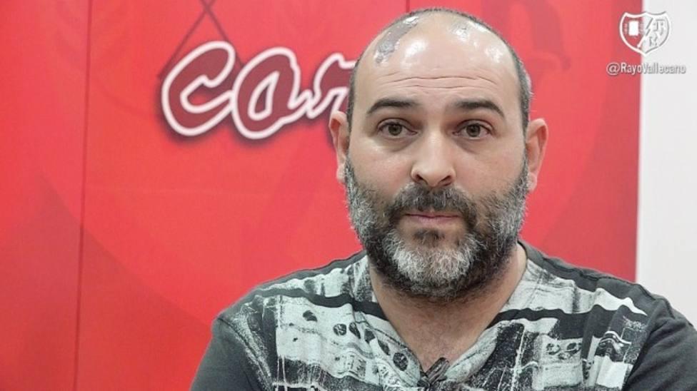 Juanma Barroso, director deportivo del CF Lorca Deportiva