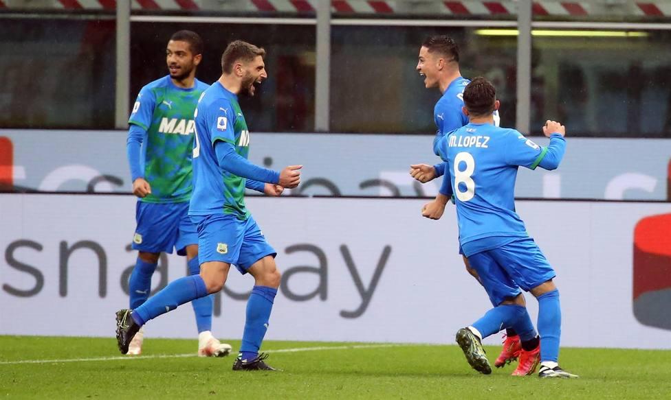 El Sassuolo se venga del Milan por el Golpe Superliga