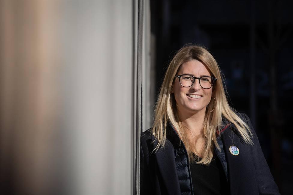 La vicepresidenta de JxCat y portavoz municipal del partido en Barcelona, Elsa Artadi