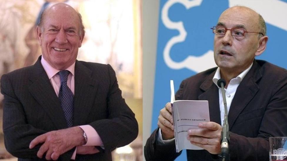 Antonio Suárez y Xosé Bolado