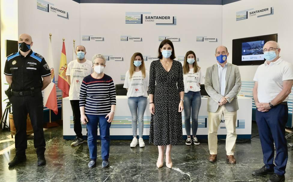 Santander presenta el programa 'Educadores de calle'