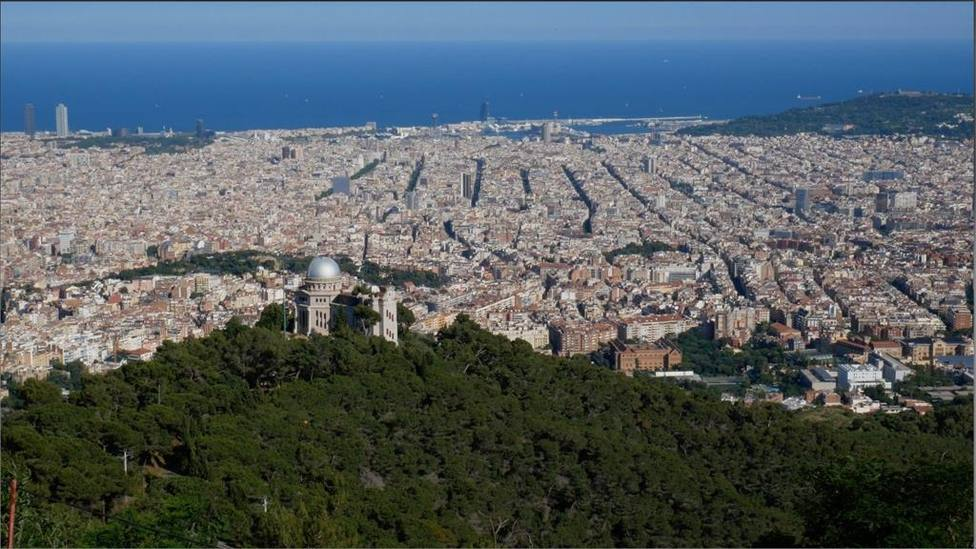 Fotografía de la ciudad de Barcelona