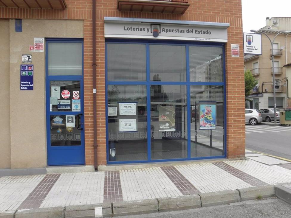 Administración de Loterías número 1 de Molina de Aragón