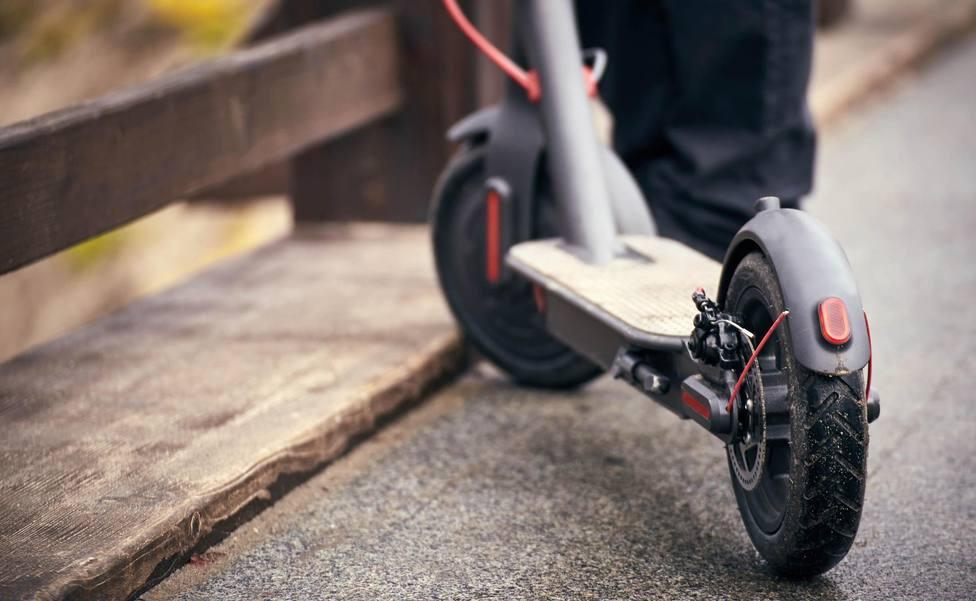 Mil euros de multa por conducir ebrio un patinete en Vitoria