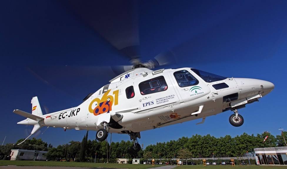 Huelva.- Sucesos.- Fallece un motorista que un testigo intentó salvar tras caer por un barranco en Campofrío