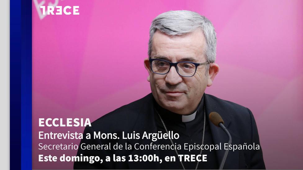 Mons. Luis Argüello este domingo en 'Ecclesia'