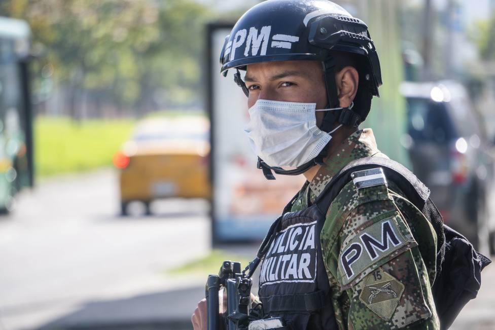 La Policía de Colombia detiene al presunto narcotraficante alias El Loco
