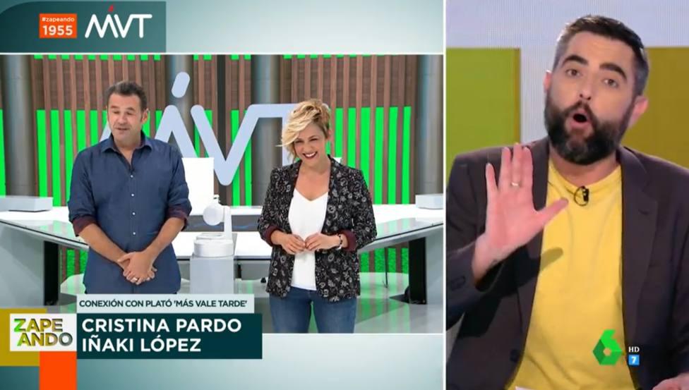 Iñaki López lanza una pulla a Dani Mateo por la diferencia de edad con su novia: Mejor que tú