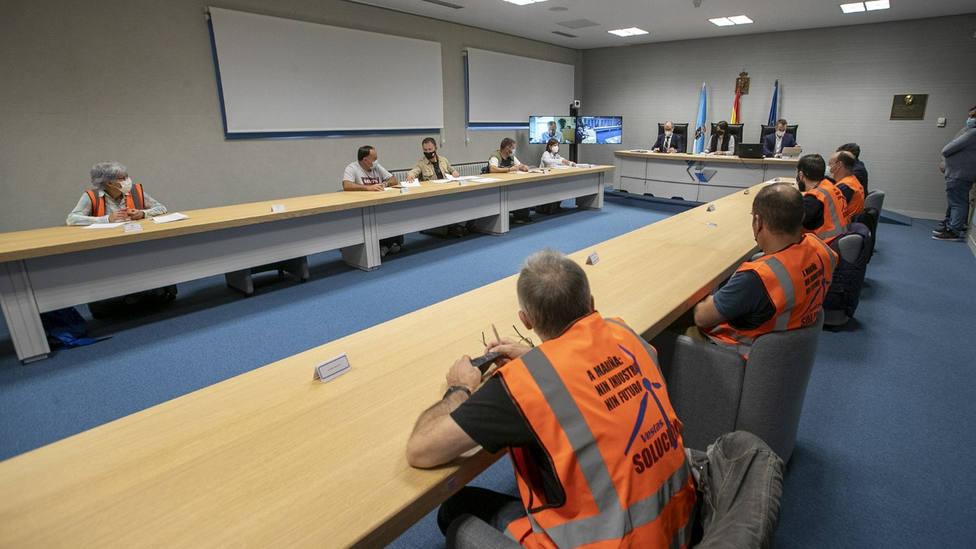 Reunión de la mesa industrial de Vestas