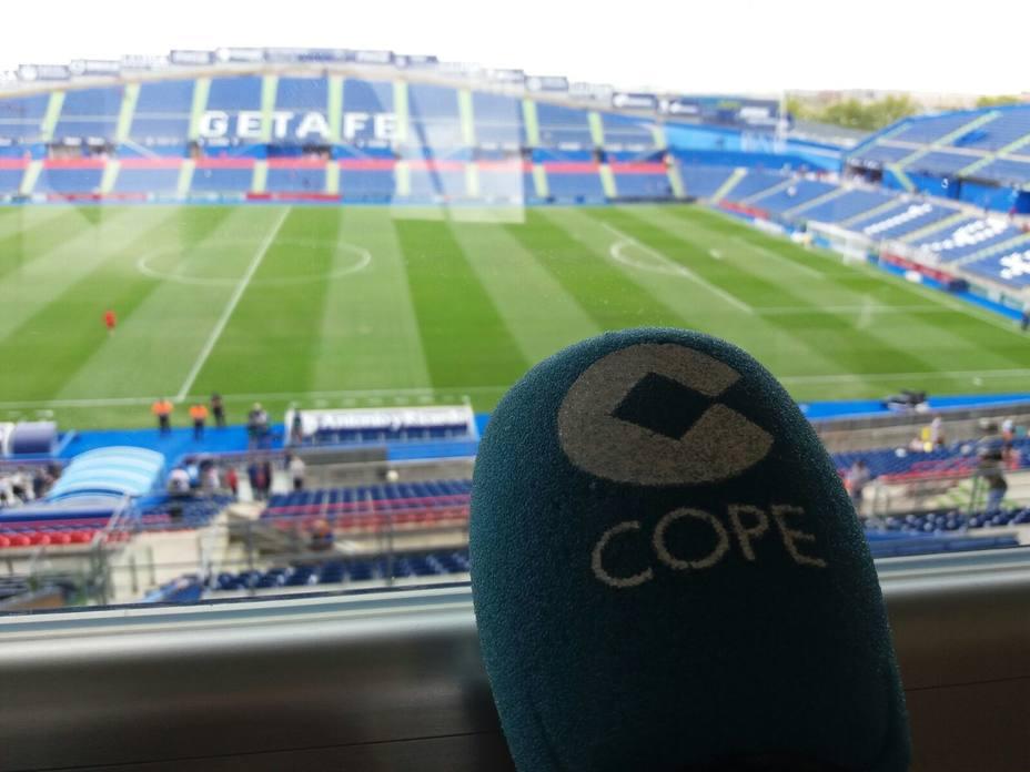 COPE en el Coliseum Alfonso Pérez