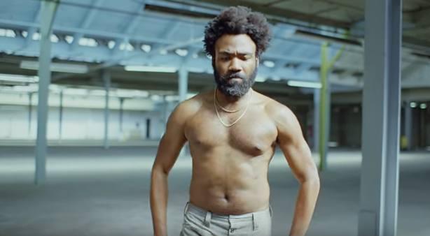 Childish Gambino en un fotograma del vídeo This Is America