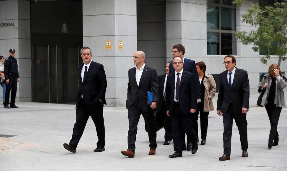 Descubre las diez claves de la acusación de la Fiscalía a los líderes del procés