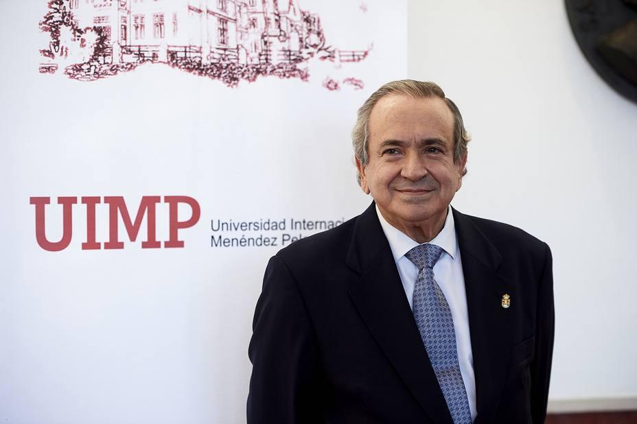 Emilio Lora-Tamayo, cesado como rector de la UIMP