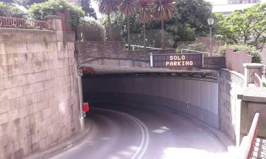Entrada al túnel de Marina- Parrote