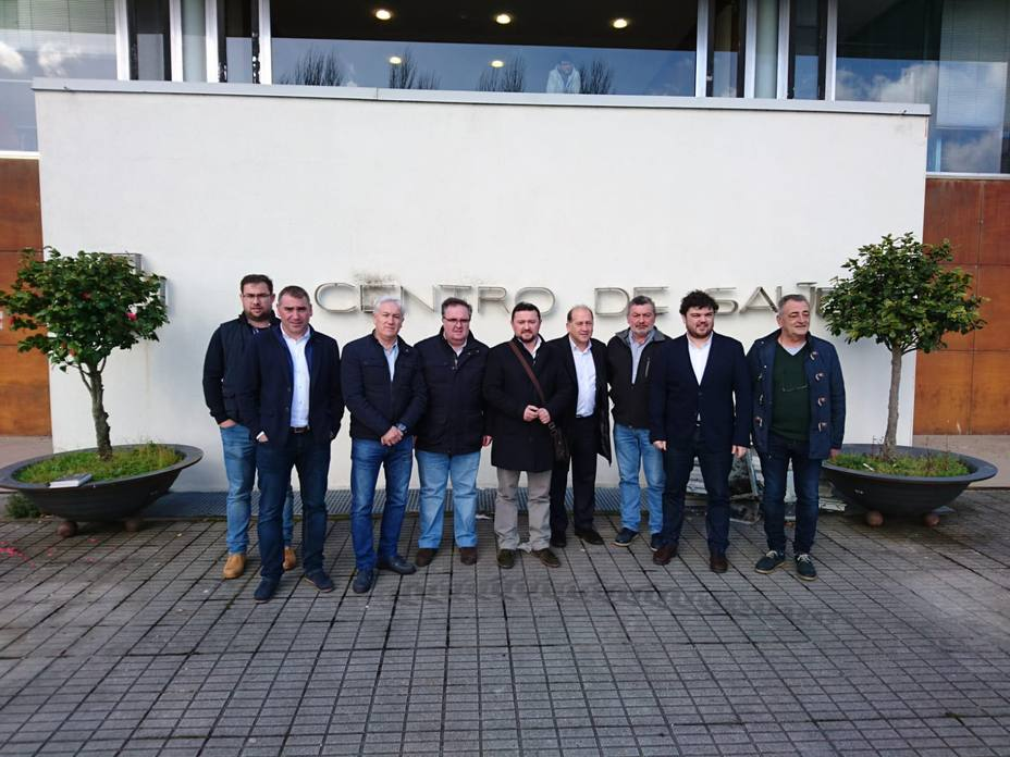 Diputados autonómicos y representantes locales de PSdG
