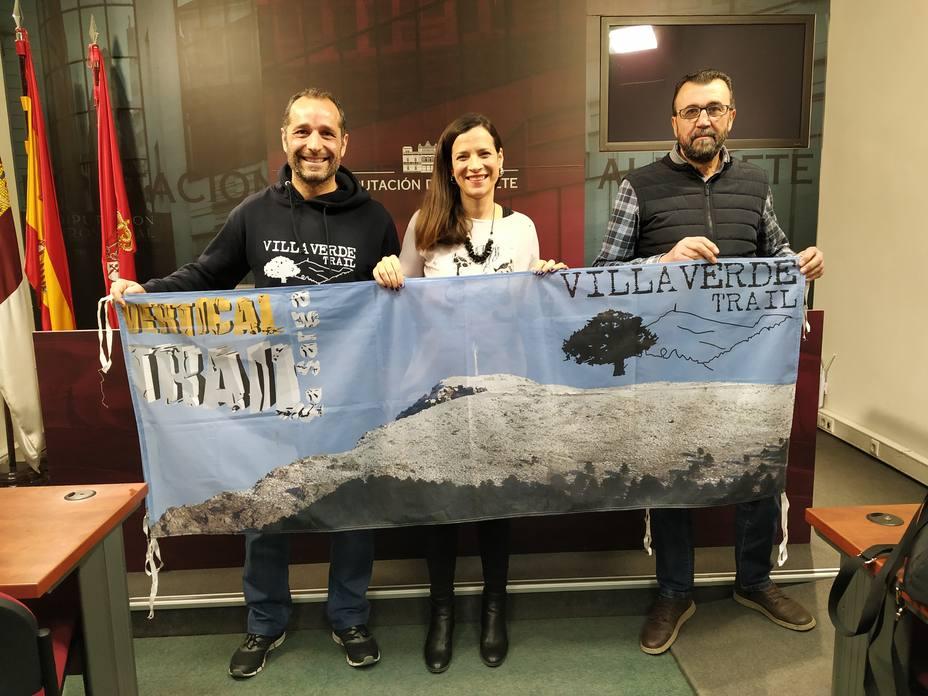 Presentación de la IV Trail Vertical de Villaverde de Guadalimar