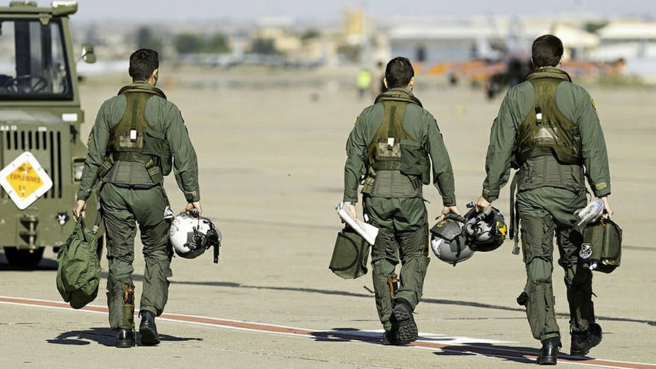 Pilotos del Ejército del Aire español