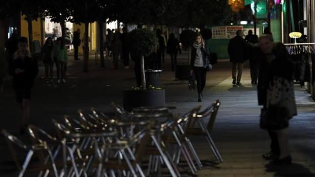 Imagen de la Calle Cruz Conde por la tarde
