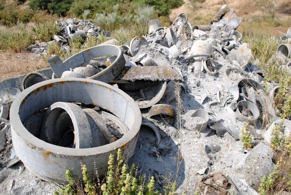 Las zonas de España más contaminadas por la presencia de amianto