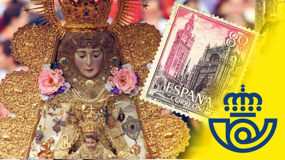 Así es el sello más mariano que ha preparado Correos por el centenario de El Rocío