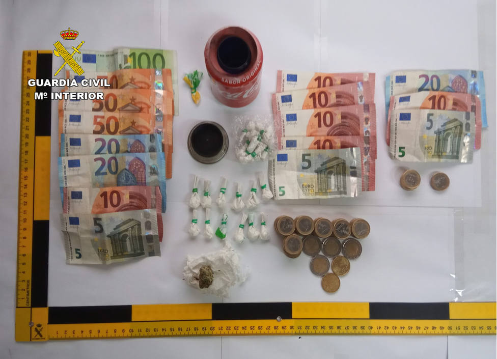 Detienen a tres personas de Cartagena y Torre Pacheco por tráfico de drogas durante la inspección de un bar