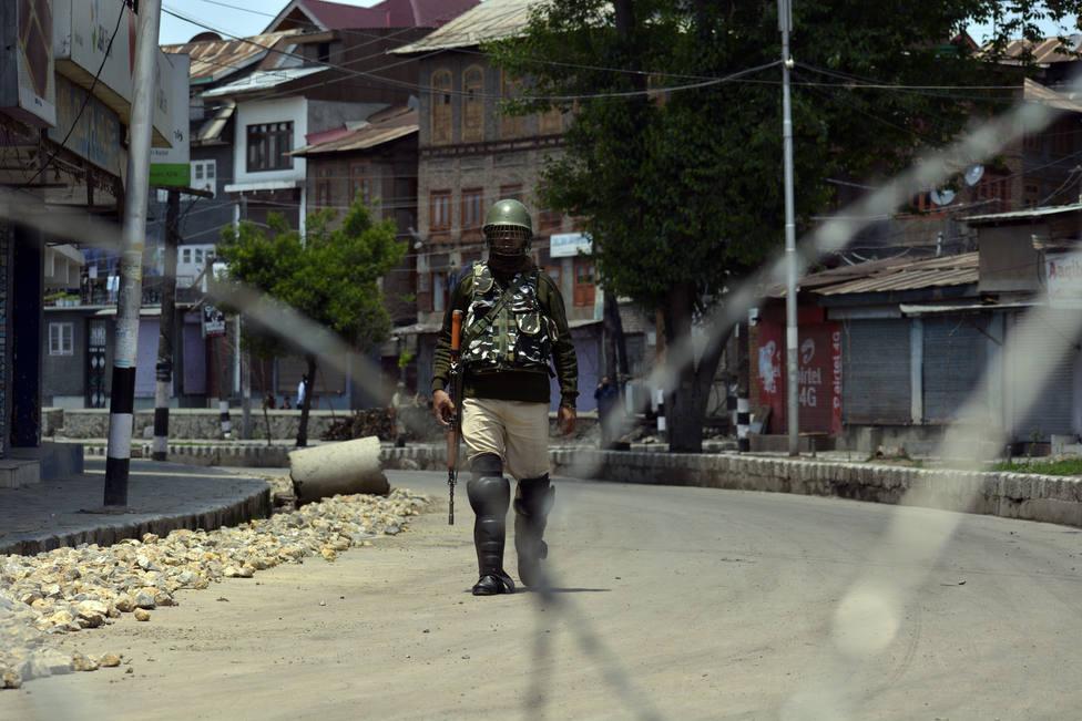 India vuelve a imponer restricciones en Cachemira ante la festividad musulmana de Eid al Adha