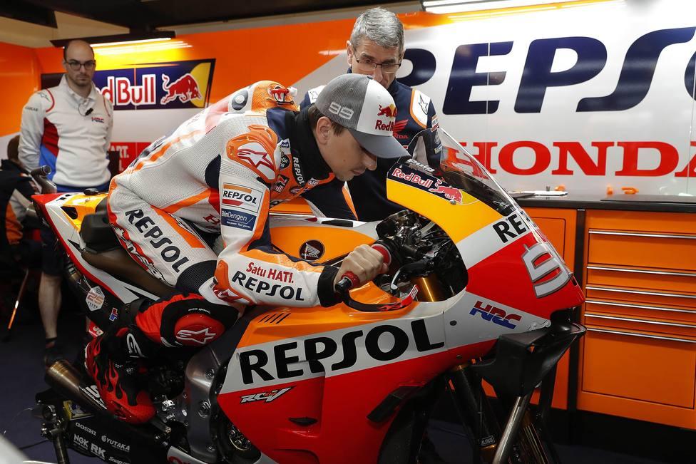Lorenzo: Llamé a Puig para reafirmar mi compromiso con Honda