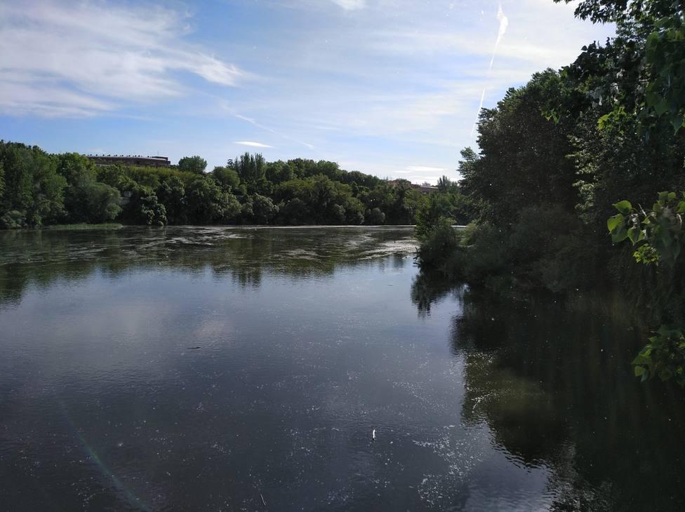 Rescate en Logroño de un varón fallecido en el río Ebro