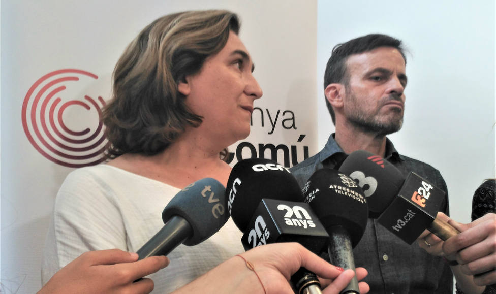 """Colau niega una """"crisis general"""" en Barcelona y califica la situación de """"problema con los hurtos"""""""