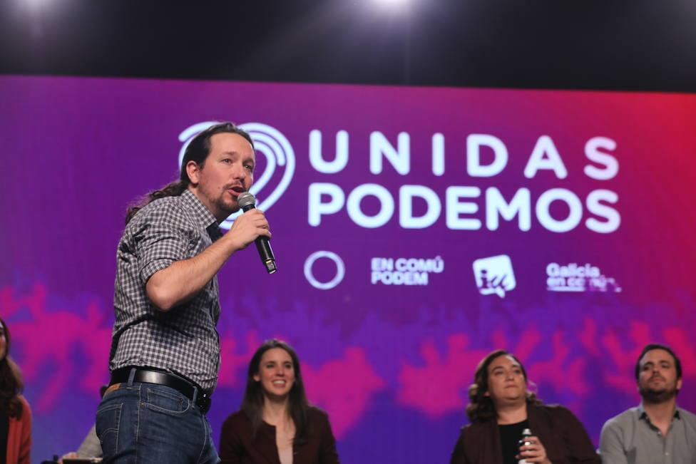 Pablo Iglesias llama al voto para lograr un Gobierno que defienda la democracia frente a las élites