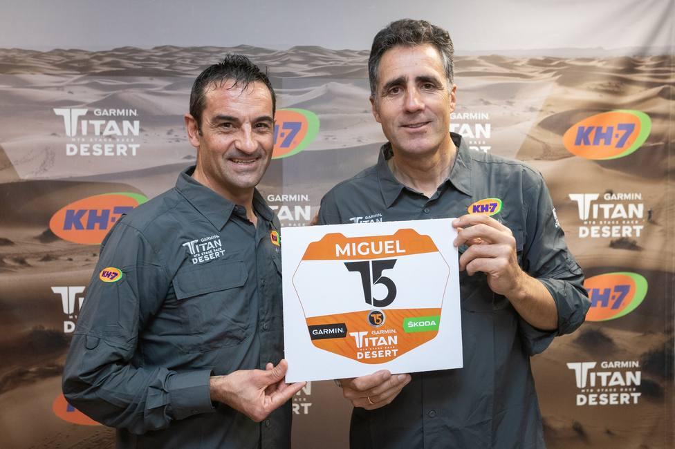 Miguel Indurain disputará junto a su hijo y Melcior Mauri la Titan Desert de 2020