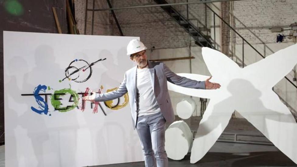 Antonio Banderas sigue en Málaga con su obra teatral en el museo del Soho.