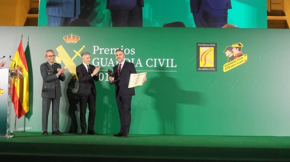 Grande-Marlaska destaca la ejemplaridad de los galardonados con los Premios Guardia Civil
