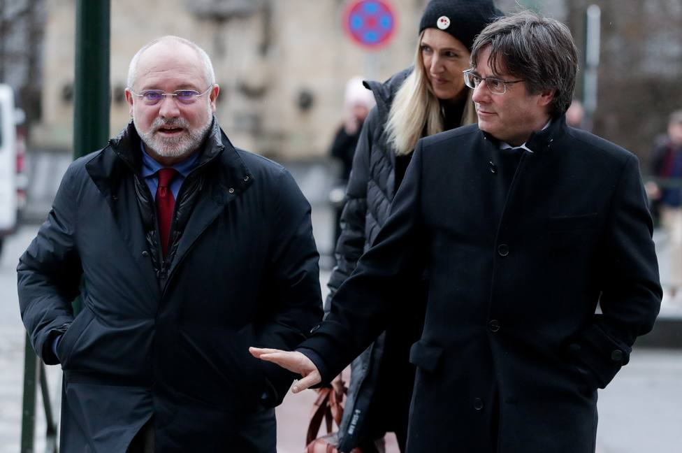 Carles Puigdemont hearing at Justice Court