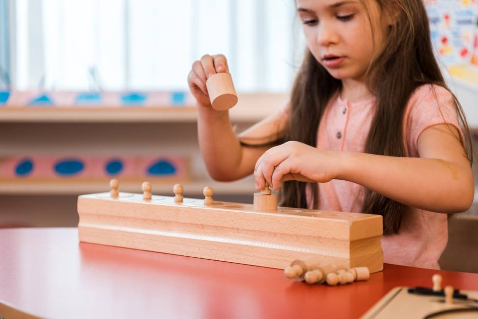 La magia del método Montessori