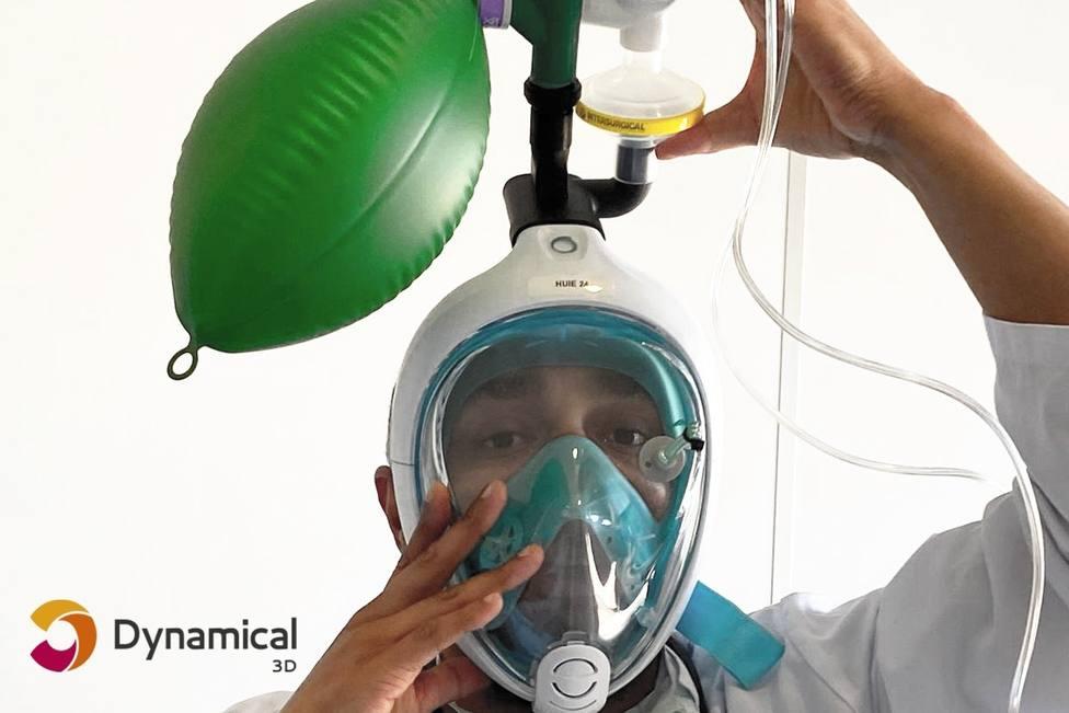 Dynamical 3D, lanza un crowdfunding para convertir máscara de buceo en mascarillas respiratorias