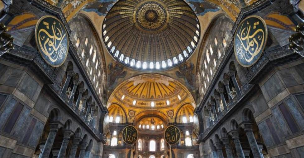 ¿Qué pasará con los mosaicos bizantinos que hay en Santa Sofia?