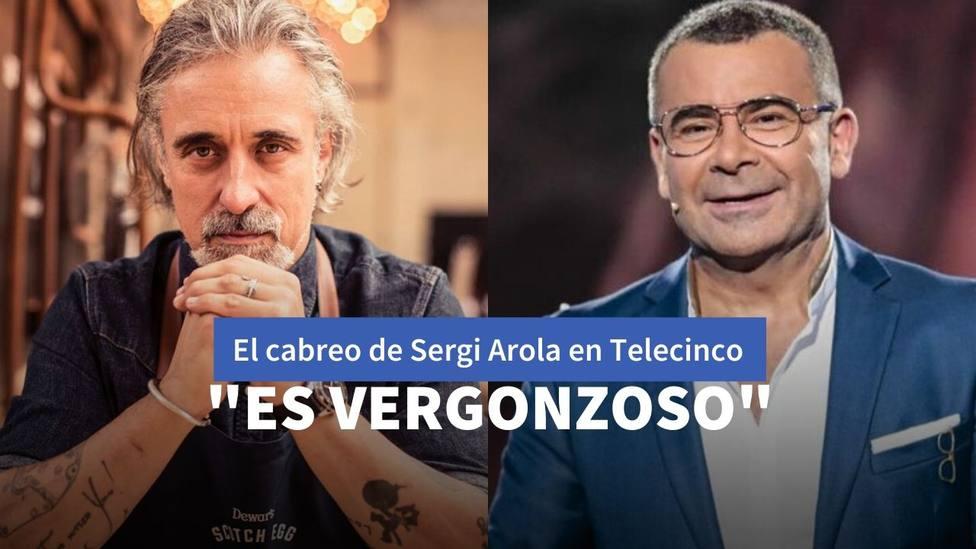 El enfado de Sergi Arola en Telecinco