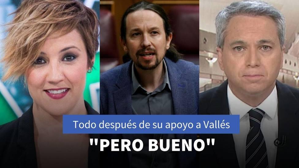 Cristina Pardo y Vicente Vallés