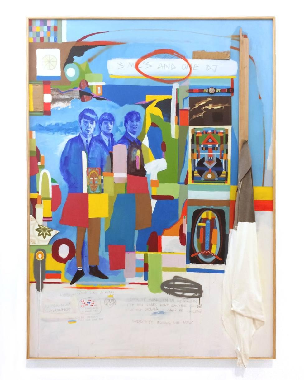 Imagen de la exposición del artista alicantino Miguel Sellers (Diputación)