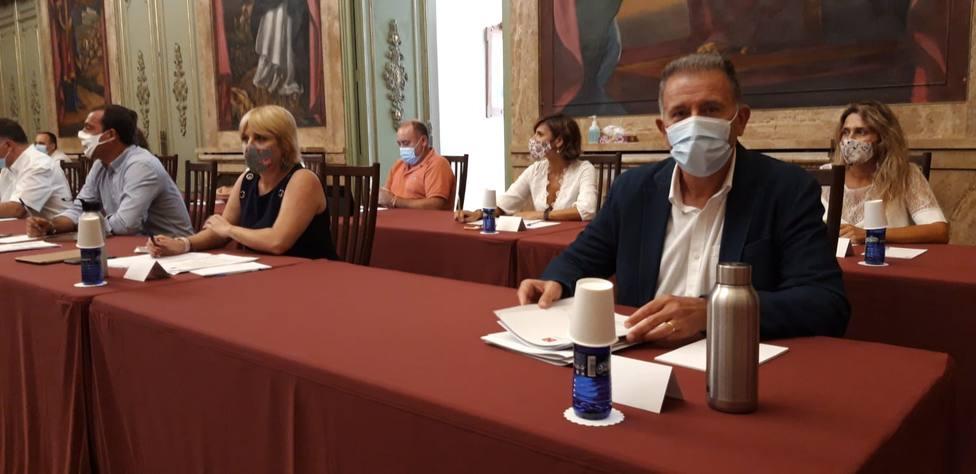 Vicent Sales muestra el rechazo del PP al acuerdo del Gobierno con ayuntamientos socialistas