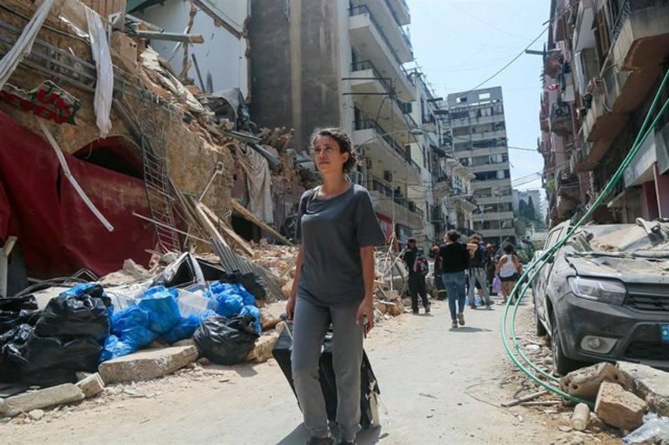 Siete personas continúan desaparecidas un mes después de la explosión en Beirut