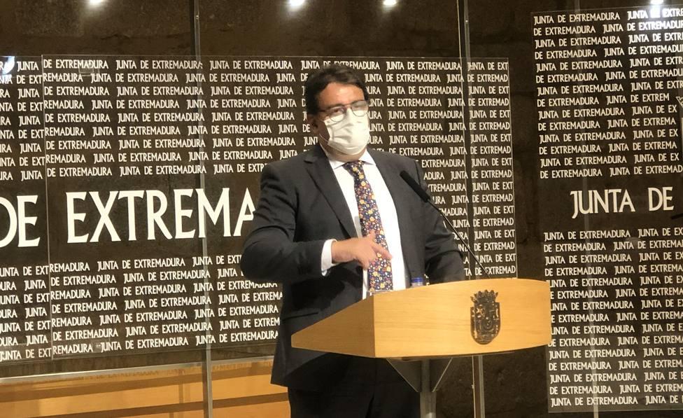 José María Vergeles en rueda de prensa. Foto: COPE