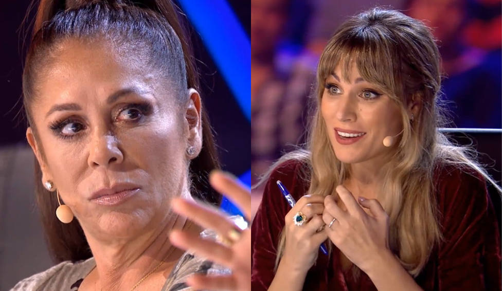 Isabel Pantoja y Edurne en Idol Kids (Telecinco)