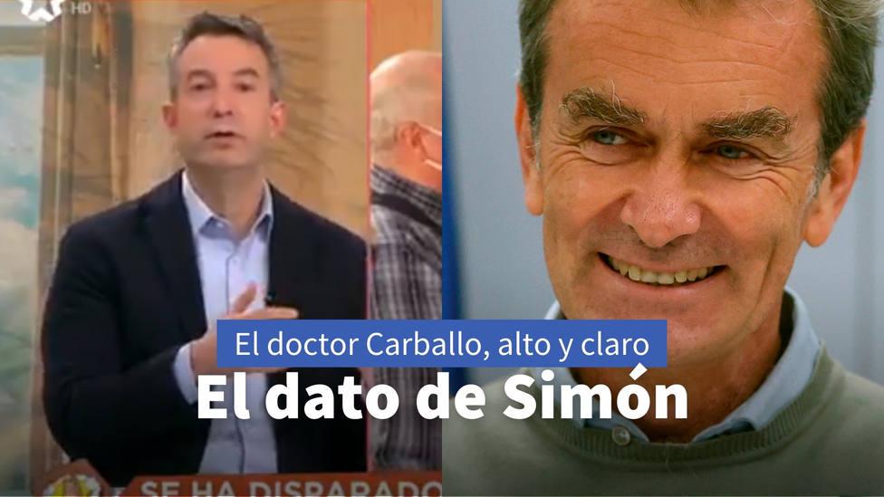 El doctor Carballo pone en evidencia el error en el que sigue creyendo Fernando Simón: Ha quedado demostrado
