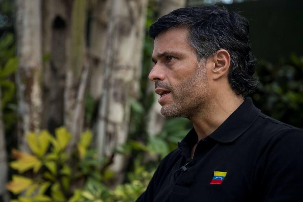 Pedro Sánchez se reúne con el líder opositor venezolano, Leopoldo López, en Ferraz